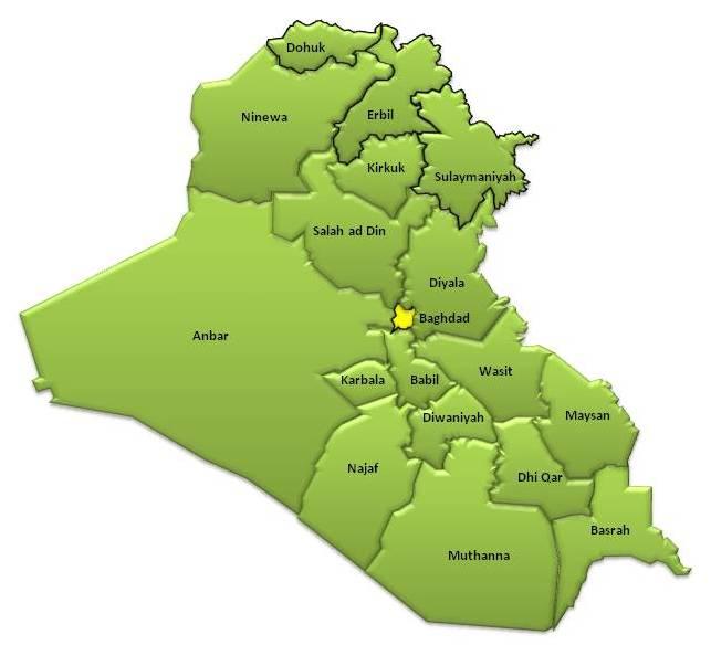 Yezidis Maps of Yezidi (Yazidi) Land