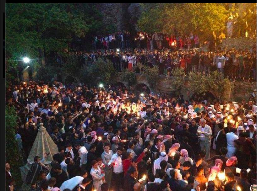 Yezidi holiday at Lalish
