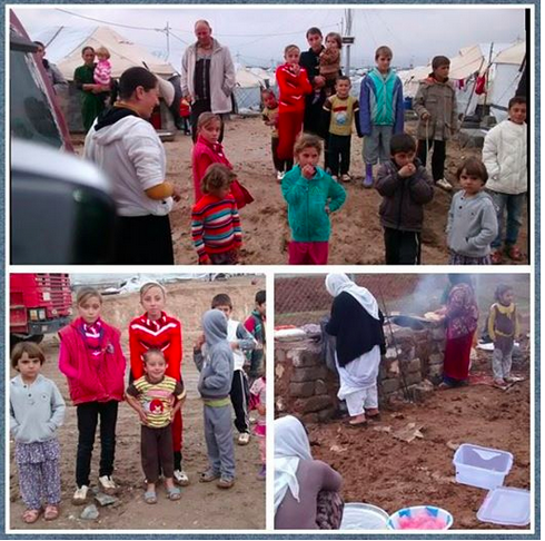 YEZIDIS IN CAMPS