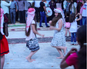 yezidi girls dancing