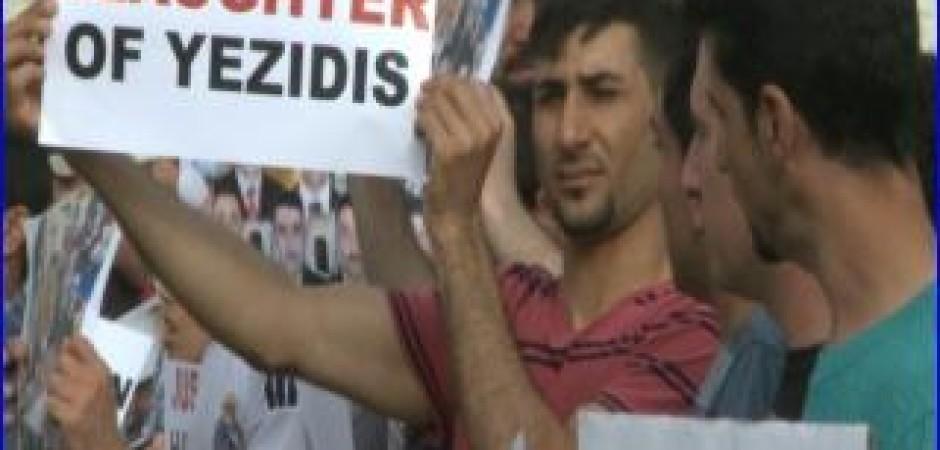 yezidis rally